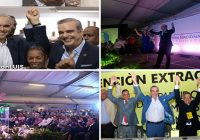 Abinader proclamado por la APD, DxC, Frente Amplio, PHD, PRSD y su partido el PRM: Vídeos