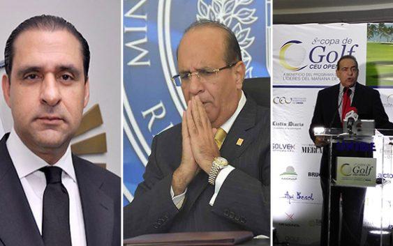 Servio Tulio, hermano del «dueño» de Deloitte, Julio César Castaños Guzmán apoya próximo fraude; Vídeo