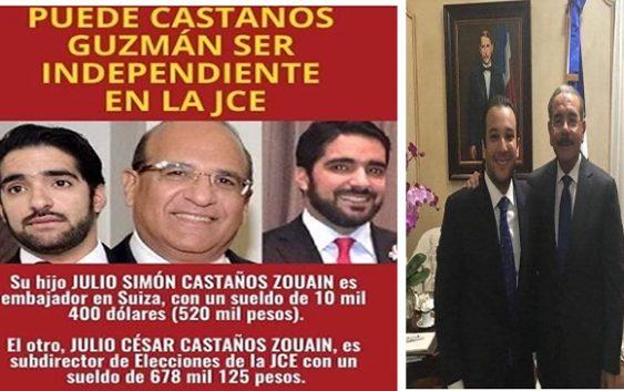 Nuestra recomendación sincera; Renuncie Castaños Guzmán