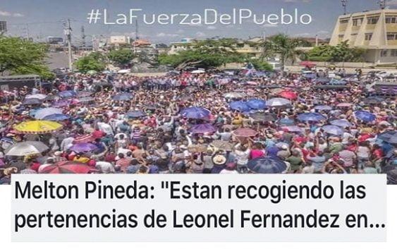 Los Tereques de Leonel, ayer fueron retirados (Décima)