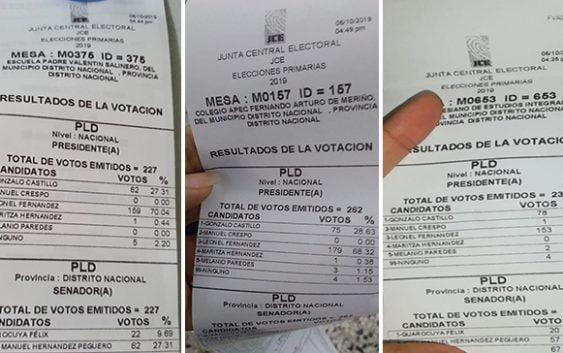 Pruebas fehacientes del triunfo de Gonzalo Castillo y la JCE; Vídeos