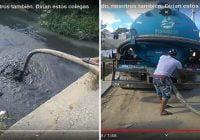 Cierran compañía Pid Smart por verter desperdicios toxicos en el Río Jacagua de Santiago; Vídeo