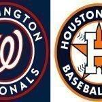 Todo listo para la 115.ª Serie Mundial del béisbol de las Grandes Ligas entre Astros de Houston y Nacionales de Washington