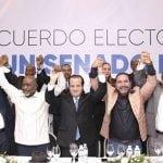 Alianza sin precedente: 12 partidos llevaran 24 candidatos al senado; Vídeo