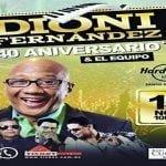 Este viernes el maestro Dioni Fernández celebra los 40 años de «El Equipo»