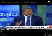El presidente Leonel Fernández conversa con Camilo en CNN en Español; Vídeo