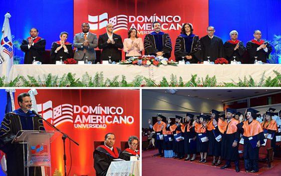 Universidad Domínico Americano realiza XVI graduación ordinaria