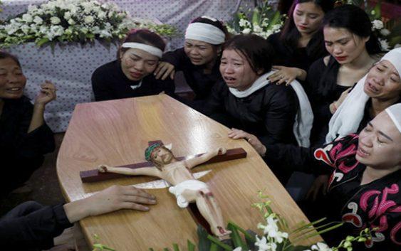 Ya están en Vietnam los 39 cadáveres encontrados en contenedor en Essex, 8 son mujeres