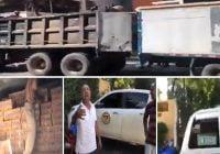 Trasiego de cajas del Gobierno por Comisión de Apoyo al Desarrollo Provincial, que dirige Francisco del Valle; Vídeo