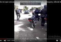 Secuestrador asesina comandante de la Unidad SWAT de la PN y también muere en el mismo lugar; Vídeos