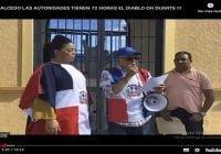 Insólito…!!! «Obra» basura de Jaime David sustituye a Duarte en Salcedo; Exigen retiro de la afrenta