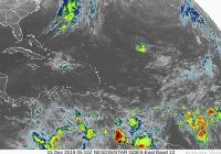 Onamet: Sistema frontal sobre cuba y vaguada sobre Haití continuarán provocando aguaceros moderados a fuertes