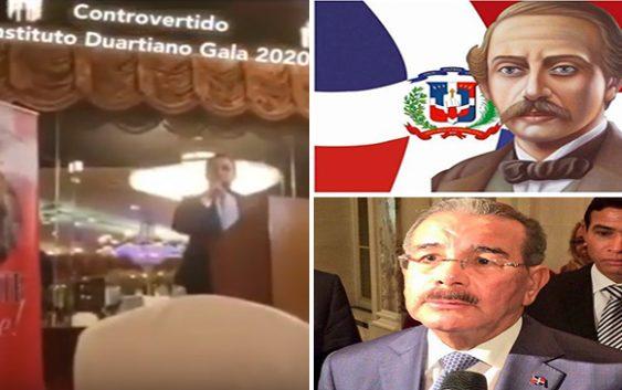 Abuchean a Danilo Medina tras ser mencionado en celebración natalicio 207 de Juan Pablo Duarte; Vídeo