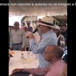 Félix Vásquez: Amenazador de empleados; Diferencia abismal encuestas lo hacen renunciar a candidatura