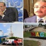 Dónde está la JCE? Danilo Medina, PLD y el Gobierno van a Nagua hoy a violar Ley Electoral con el Sistema 911