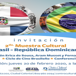 Mañana inicia Segunda Muestra Cultural de Brasil en el Centro Cultural BanReservas