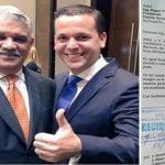 PRD con pronósticos reservados: Hemorragia continúa, Hugo Beras deposita renuncia; Pasa al PRM