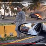 Coronavirus (Covid-19): «Toque de queda» no ha impedido aparatosos accidentes; Vídeos