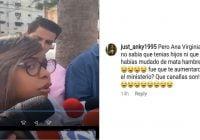 Ana Virginia una mitómana defendiendo a Danilo y el fraude dice los que protestan son delincuentes; Vídeo
