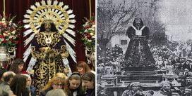 Coronavirus (Covid-19): Sin el Besapiés le rinden culto al Cristo de Medinaceli, por recomendación sanitaria