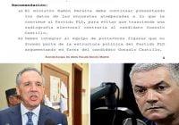 Sebastián Algarín Ubañez del Grupo Elite de España recomienda a Peralta seguir presentando encuestas falsas