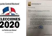 Junta Central Electoral continúa preparativos Elecciones 17 de mayo, convoca delegados; Fascímil adjunto