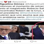 Saladín dice comunicadores enviamos coronel «MARRULLA» para el fraude electoral; También el del 6 de octubre?