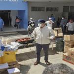 Coronavirus (Covid-19): Abinader lleva alimentos, productos de limpieza y equipos protección a comunidades de SC; Vídeo