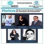 Sodomedi hará mañana conversatorio virtual «Retos de la Comunicación Digital en Tiempos de Pandemia