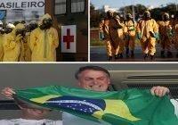 Coronavirus (Covid-19): Mientras Brasil registra 11,123 muertes y 162,699 contagios Bolsonaro pide fútbol