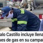 Gas moráo, romo y comía, con dinero mal habido (Décima)