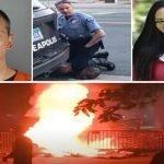 DerekChauvin responsable de disturbios en USA; Esposa no quiere convivir con asesino y le pide divorcio: Vídeos