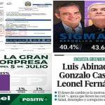 Sigma Dos: Excúsenme que sea la única pero Danilo Medina me pagó con dinero público para mentir