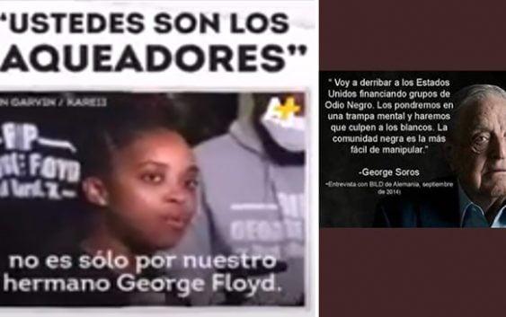 Activista Tamika D. Mallory envía contundente mensaje a racistas asesinos de los USA; «Ustedes son los saqueadores»; Vídeo