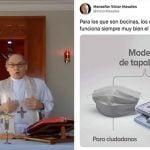 Monseñor Víctor Masalles: Los periodistas son condignos de los saduceos; Vídeo