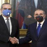 Presidente electo Luis Abinader visita a Danilo Medina; Anuncia comisiones de transición de mando; Vídeos
