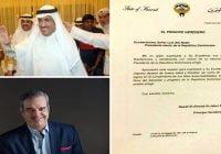 Presidente Abinader agradece felicitaciones del Emir de Kuwait, Nawaf Al-Ahmad Al-Jaber Al-Sabáh