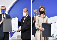 Con pesar Comité de Base del PLD en la JCE entrega certificados de elección a Raquel y a Abinader