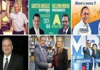 Donde y hora en que votarán Gonzalo C., Guillermo M., Ismael R., Juan C., Leonel F. y Luis A.