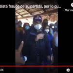 Fraude electoral: Gonzalo Castillo dice que con artimañas y 10 votos por mesa se robarían 175 mil votos; Vídeo
