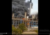 Incendio afecta Planta Catalítica la Refinería de Cardón; Vídeo