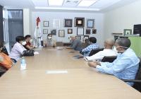 Gabinete Cultural de Luis Abinader visita Centro CulturalPerelló