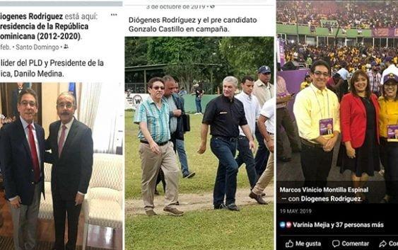 Desconcierto en el PRM principalmente por esta designación: Dicen Luis debió dejar a Danilo o a Gonzalo; Vídeo y fotos