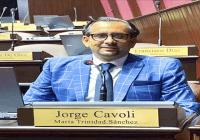 Jorge Cavoli agradece respaldo al juramentarse como diputado, el más votado en María Trinidad Sánchez