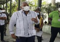 Director OMSA Radhamés González coordina entrega comida, dispone transporte y visita estaciones de autobuses