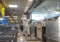 Coronavirus (Covid-19): Bclean encargada de la desinfección del Aeropuerto Las Américas contra el virus
