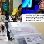 Mesurada… Doña Miriam: Esos expedientes no prosperarían nunca en manos de esa fiscalía