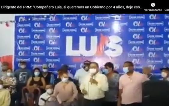 Continúa revelión de dirigentes del PRM por lo que consideran maltrato: Vídeos e importantes tuits