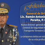 Director PN juramentó al «Chivo expiatorio» del fraude de Danilo, el PLD y Castaños Guzmán como Director de la Digesett