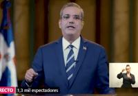 Abinader retira impuestos y llama consenso para el 2022; Advierte al PLD que mejor guarden silencio